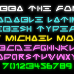 Jabba the Font sample 1
