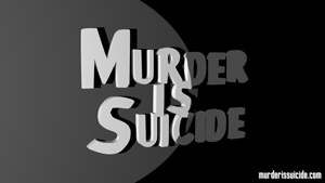 Murder is Suicide Spotlight Logo - Wallpaper