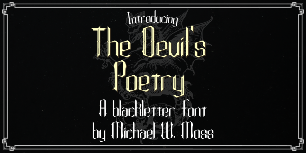 The Devil's Poetry
