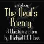 The Devil's Poetry 1